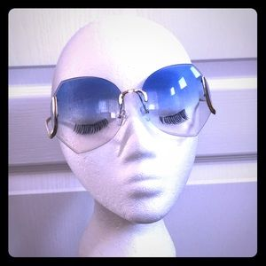 Trendy cotton candy sunnies